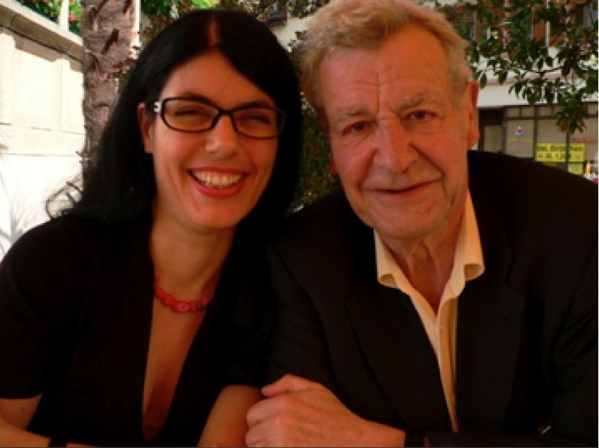 Oswalt Kolle und Beatrice Wagner